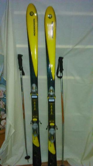 Equipo de esqui completo
