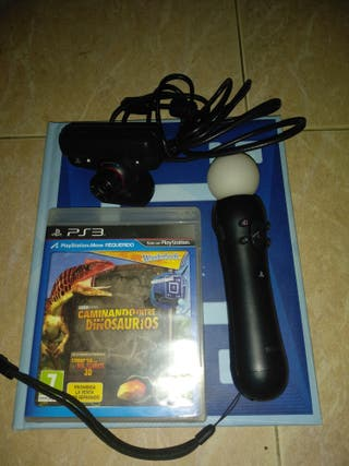 cámara play +juego +playstation move + wonderbook