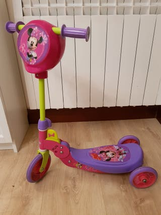 patinete infantil 3 ruedas plegable