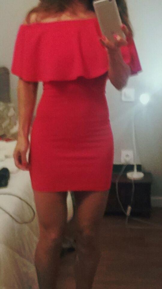 0238c58bdc Vestido de lycra rojo nuevo talla xs o 36 de segunda mano por 8 € en ...