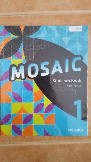libro de inglés 1° ESO Mosaic