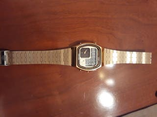 reloj citizen vintage analogico y digital años 70