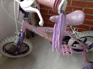 bicicleta princesas de 10'