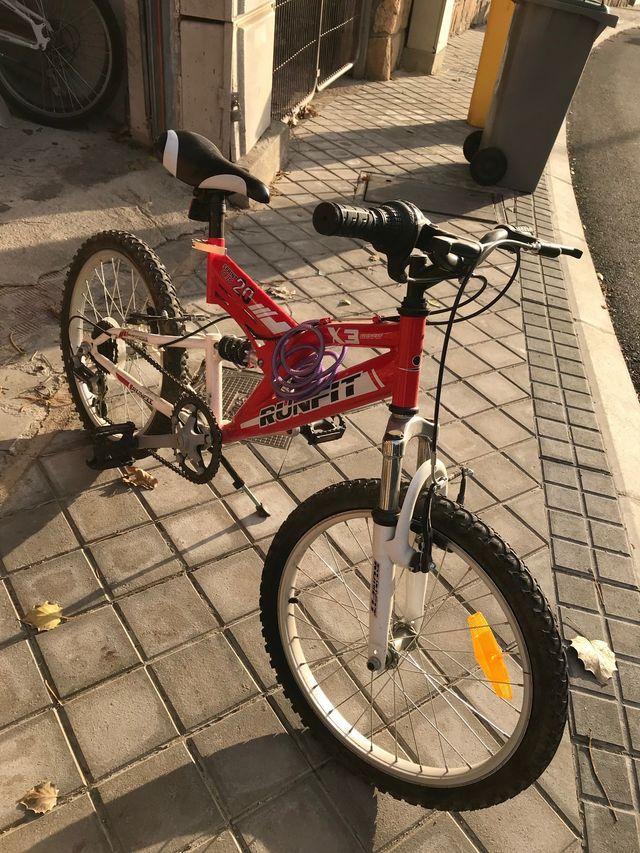 Bicicleta de niño-niña
