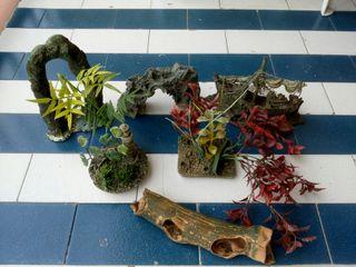 Set de adornos de terrario