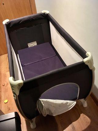 Cuna de viaje/parque + colchón