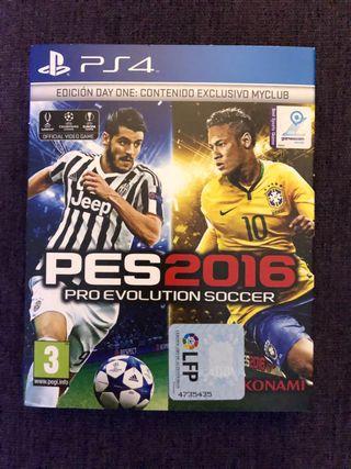 Juego PS4 Pesc 2016 nuevo