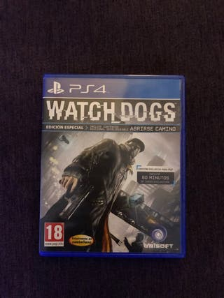 Juego Watch Dogs para PS4 nuevo