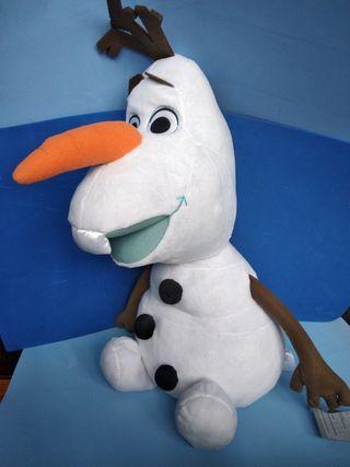 peluche gigante olaf Frozen Disney nuevo con etiqu