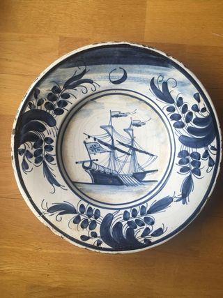 reproducciones de platos cerámica catalana XVIII
