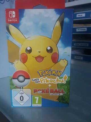 Pokemon Let's go pikachu + Pokeball Plus