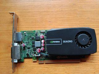 Tarjeta gráfica NVIDIA QUADRO 600 1Gb