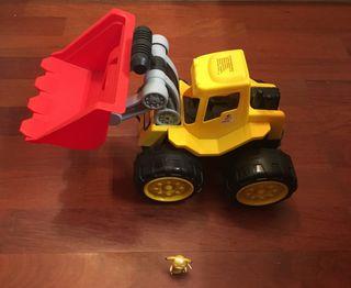 Retroexcavadora de juguete