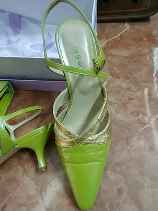 Solidario Zapatos Vqocxzgo Por Y Mano Perfil Vint De Segunda Bolso Fil v8ONn0wm