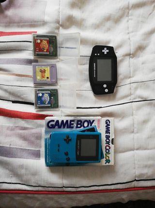 game boy color y advance y los 3 zeldas
