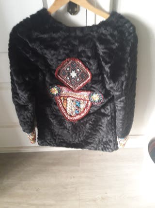 chaqueta de pelo la morena
