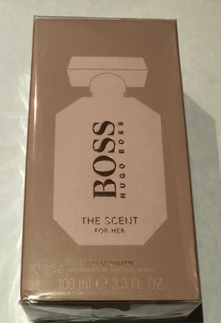 Vendo The scent for her edt HUGO BOSS 100 ml+envio