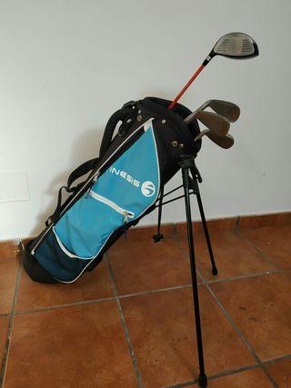 juego palos de golf con bolsa