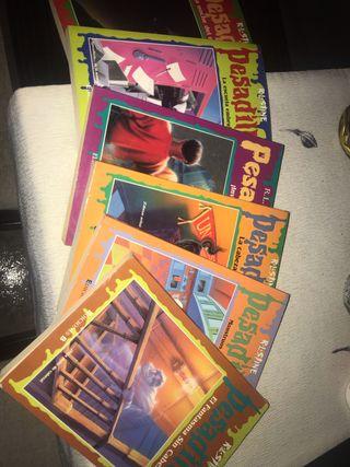 Pequeña colección de los libros de Pesadillas