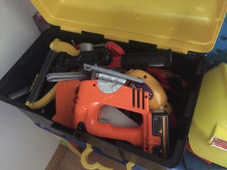 Caja herramientas juguetes