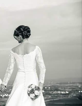 vestido de novia talla36-38