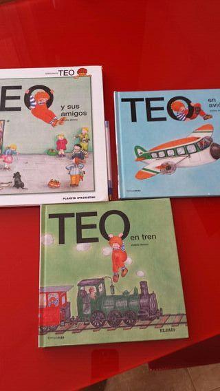 Lote 3 cuentos Teo