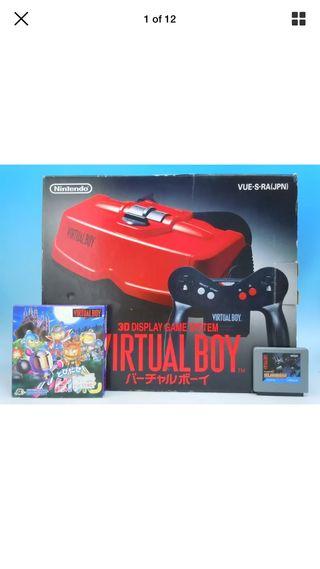 Nintendo Virtual Boy Japón