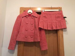 Traje falda y chaqueta, talla S, SIN ESTRENAR