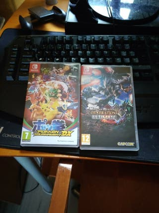 Pack de 2 Juegos Nintendo Switch
