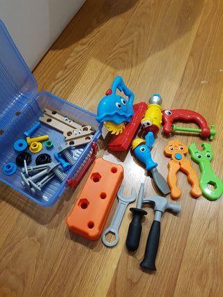 herramientas de juguete