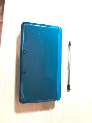 Nintendo 3DS azul metálico