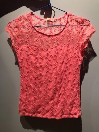 Camiseta Bershka, talla M