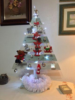 Árbol navidad madera