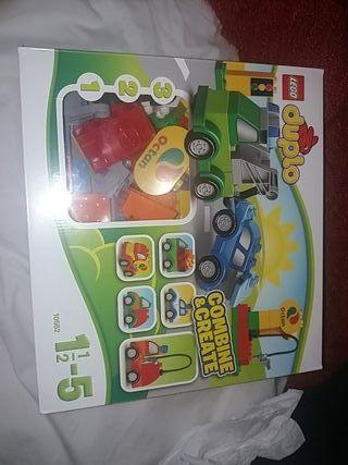 Lego duplo ( gasolinera)