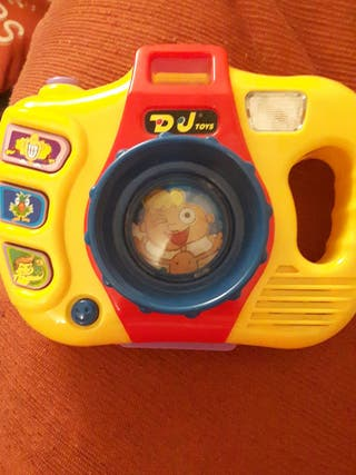 Cámara de fotos de juguete