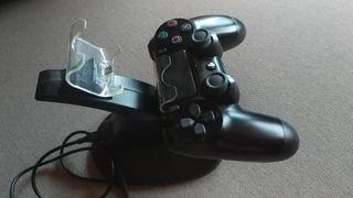 Estación carga USB mandos PS4