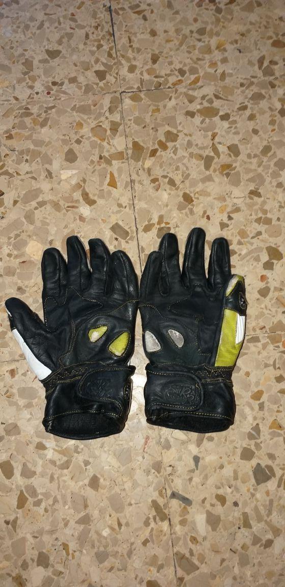 guantes de cuero niño