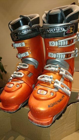 Botas esquí travesía Garmont T.27,skimo,freeride