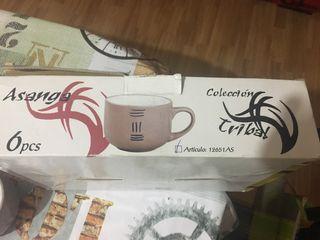 Juego tazas