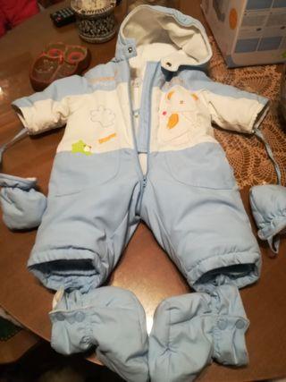 Mono/Buzo de invierno de bebé