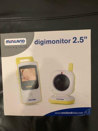 Dígimonitor 2.5 miniland vigila bebé