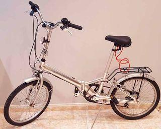 Bicicleta plegable, perfecta para ciudad - MONTY