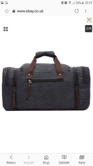 Canavas Travel Bag