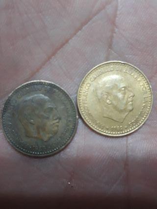 1 peseta caudillo