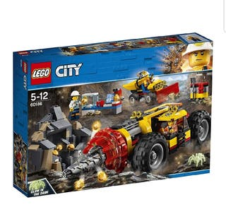 LEGO City - Mina: Perforadora Pesada (60186)