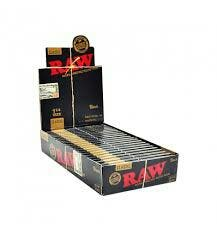 RAW BLACK 1¼ Size papel