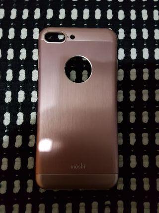Funda iPhone 7/8 Plus Original Moshi Oro Rosa