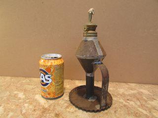 Lamparilla candil antiguo petroleo