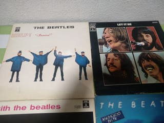 e 5 lps de los Beatles