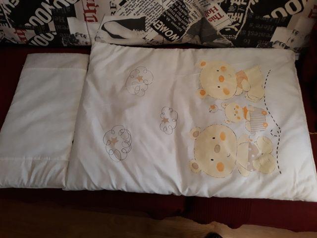 Pack de ropa de cama para minicuna estandar
